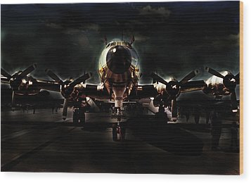 Wood Print featuring the photograph Mats Constellation by John Schneider