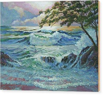 Matsushima Coast Wood Print by David Lloyd Glover