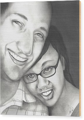 Matt And Jasmine Wood Print