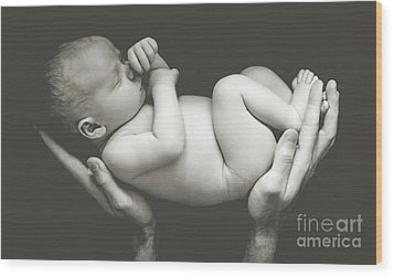 Matte Baby Art Wood Print