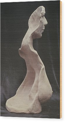 Maturity Wood Print by Sarah Biondo