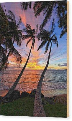 Maui Magic Wood Print by James Roemmling