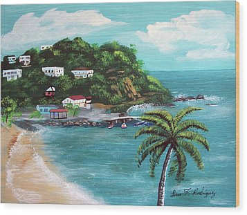 Maunabo Puerto Rico Wood Print by Luis F Rodriguez