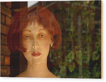 Mavis Wood Print by Jez C Self