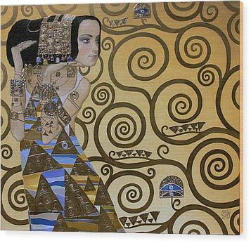 Mavlo - Klimt Wood Print by Valeriy Mavlo