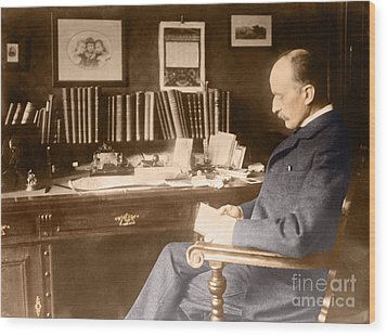 Max Planck, German Physicist Wood Print by Science Source