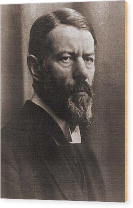 Max Weber 1864-1920, German Political Wood Print by Everett