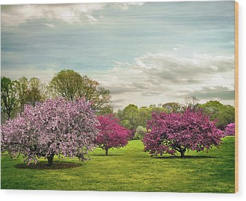 Wood Print featuring the photograph May Meadow by Jessica Jenney