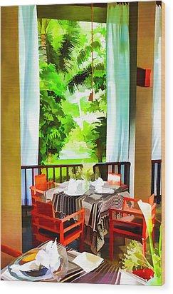 Maya Sari Mas Wood Print by Lanjee Chee
