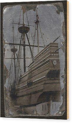 Mayflower 1 Wood Print