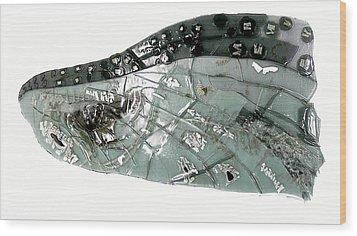 Mayfly Wing  Wood Print by Sarah King