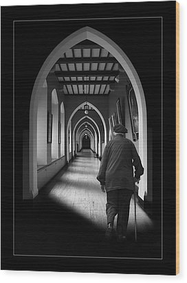 Maynooth Hall, Ireland Wood Print