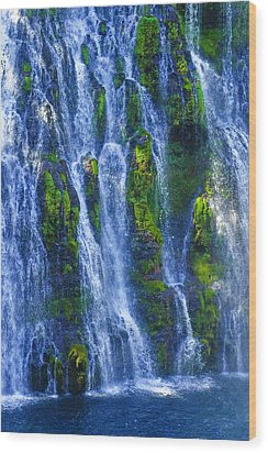 Wood Print featuring the photograph Mcarthur-burney Falls by Sherri Meyer