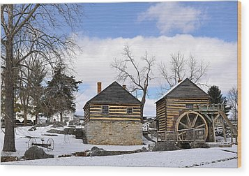Mccormick Farm 1 Wood Print by Todd Hostetter