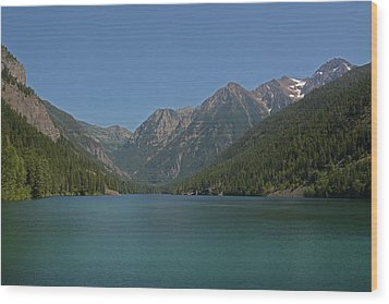 Mcdonald Lake- Ronan Montana Wood Print