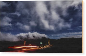 Wood Print featuring the photograph Mckenzie Pass by Cat Connor