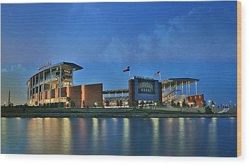 Mclane Stadium -- Baylor University Wood Print