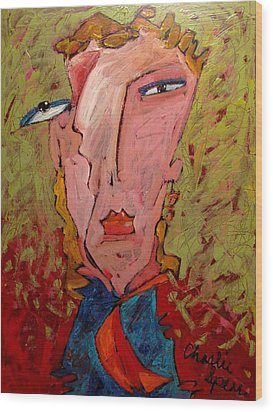 Me Jane Who The Hell Are You Wood Print by Charlie Spear