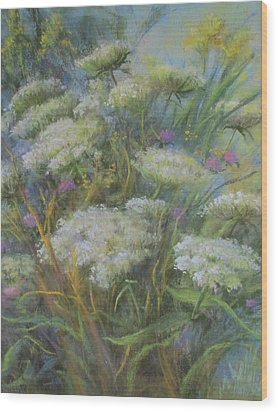 Meadow Bouquet Wood Print