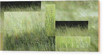 Meadow -  Wood Print