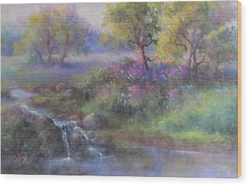 Meadow Spring Wood Print
