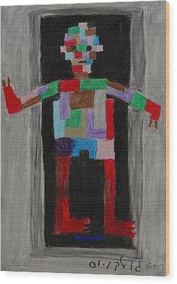 Mechanical Man Wood Print by Harris Gulko