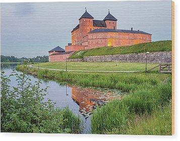 Medieval Castle Wood Print