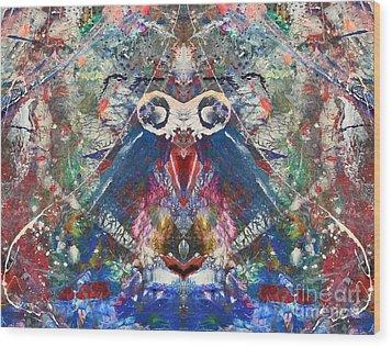 Meditation Wood Print by Dan Cope
