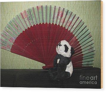 Wood Print featuring the photograph Meditation Hour by Ausra Huntington nee Paulauskaite