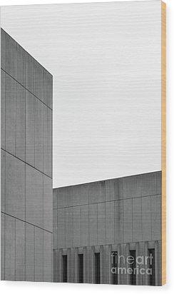 Medsci Building Wood Print