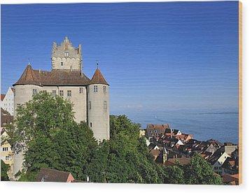 Meersburg Castle - Lake Constance Or Bodensee - Germany Wood Print by Matthias Hauser