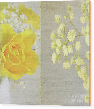 Wood Print featuring the photograph Mellow Yellow by Lyn Randle