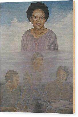 Memorial To Ms. Calvin Wood Print