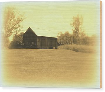 Memories Of Long Ago - Barn Wood Print