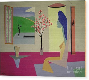 Memories Of May Wood Print by Bill OConnor