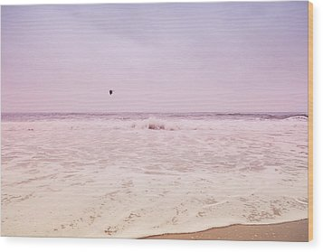 Wood Print featuring the photograph Memories Of The Sea by Heidi Hermes