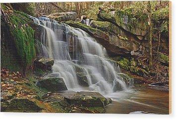 Memories Of West Virginia Wood Print