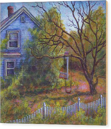Memories Wood Print by Retta Stephenson