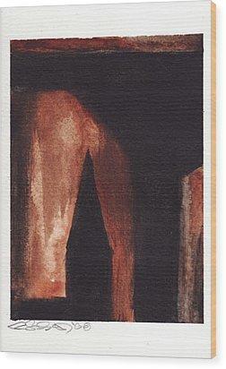 Memory Of Brooklyn Wood Print