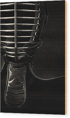 Men Monochrome Wood Print