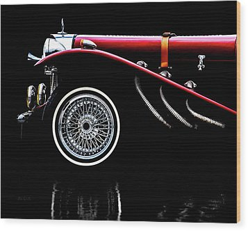 Mercedes Benz Ssk  Wood Print by Bob Orsillo