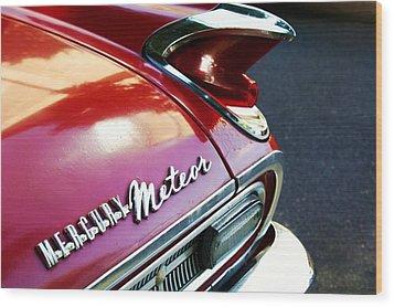 Mercury Meteor Wood Print by Cathie Tyler