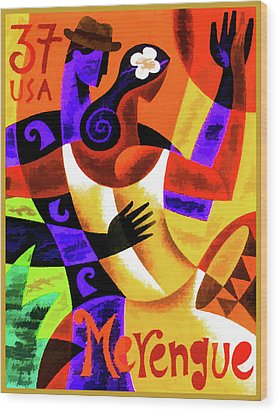 Merengue Wood Print
