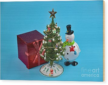 Merry Christmas To You Wood Print by Ray Shrewsberry