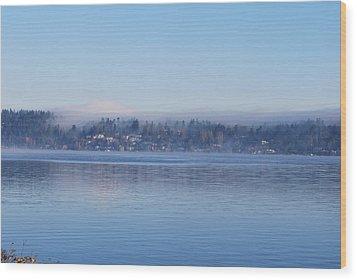 Merser Island. Wood Print by Sergey and Svetlana Nassyrov