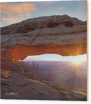 Mesa Arch, Canyonlands, Utah Wood Print