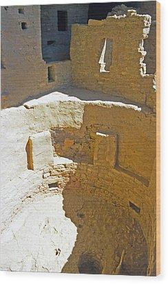 Mesa Verde 17 Wood Print by Steve Ohlsen