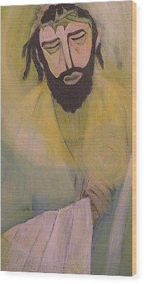 Mesiah Wood Print by Robert Daniels