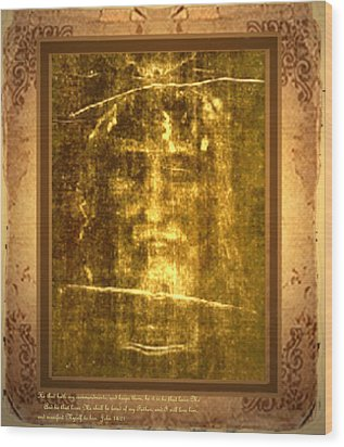 Messiah Manifested Wood Print