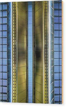 Metallic Wood Print by Wim Lanclus